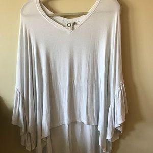 Anthropologie soft, flowy shirt
